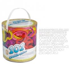 Tagliapasta Assortiti In Plastica 101 Pezzi Cm. 8