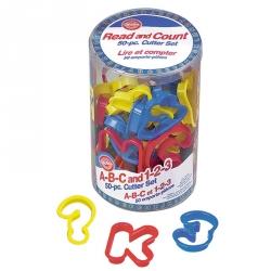 Tagliapasta Alfanumerico In Plastica 50 Pezzi Cm. 8
