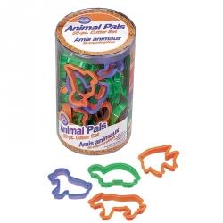 Tagliapasta Animali In Plastica 50 Pezzi Cm. 8,5