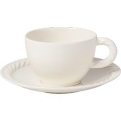 Montauk Tazza caffe con piatto 2 pezzi - Villeroy & Boch