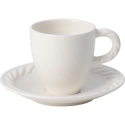 Montauk Tazza espresso con piatto 2 pezzi - Villeroy & Boch