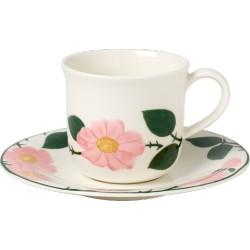 Rose Sauvage Tazza colazione con piatto 2 pezzi - Villeroy & Boch