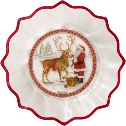 Christmas Glass Accessoires Ciotola Babbo Natale con renna - Villeroy & Boch
