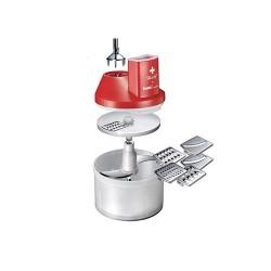 Tritatutto Slicesy rosso per frullatore a immersione - Bamix