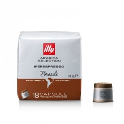 Capsule iperespresso caffè monoarabica Brasile - illy