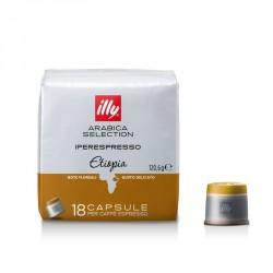 Capsule iperespresso caffè monoarabica Etiopia - illy