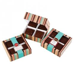 Scatole Porta Dolci Brownie 3 Pezzi Cm 16