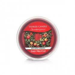 Red Apple Wreath, Ricarica MeltCup per profumatore elettrico Scenterpiece - Yankee Candle