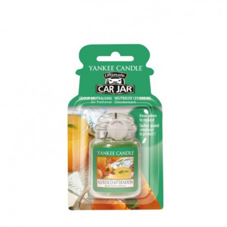 Alfresco Afternoon, Car Jar Ultimate - Yankee Candle
