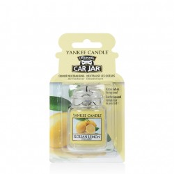 Sicilian Lemon, Car Jar Ultimate - Yankee Candle