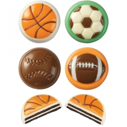 Stampo Cioccolatini Sport