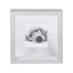 Cornice quadrata piccola - int. trasparente Cm. 23x23x3,5 (10x10) - L'oca Nera