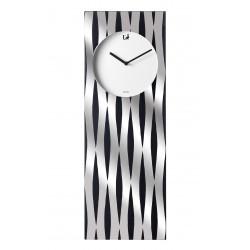 Orologio da parete rettangolare Cm. 70x25x4 - L'oca Nera