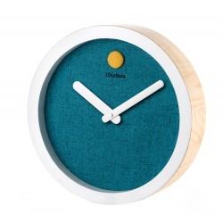 Orologio da parete azzurro Cm. 35x8 - L'oca Nera