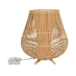 Lampada rattan naturale Cm. 50x47,5 h. - L'oca Nera