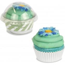 Bath bomb Cup Cake, Te Verde - Mami Milano