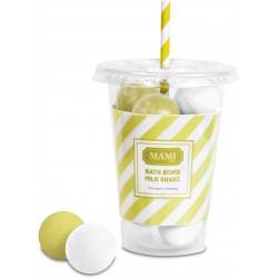 Bath bomb Milk Shake, Zucchero & Limone - Mami Milano