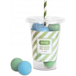 Bath bomb Milk Shake, Te Verde - Mami Milano