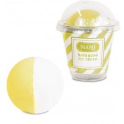 Bath bomb Gelato, Zucchero & Limone - Mami Milano