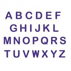 Set 26 Timbri Alfabeto