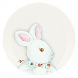 Piattino Coniglio magico femmina - Thun