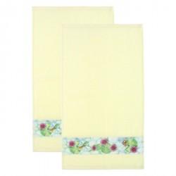 Set 2 asciugamani medi Acqua dolce - Thun