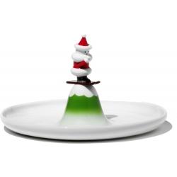 Scia Natalino, Piatto per dolci - Alessi