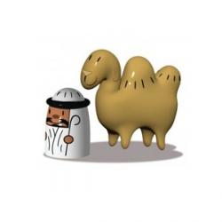 Amir & Camelus, Set di due statuine - Alessi