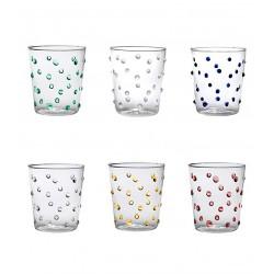 Party, Bicchiere confezione assortita 6 pezzi - Zafferano