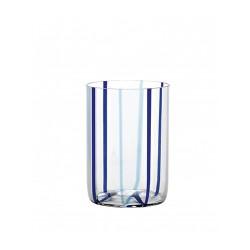 Tiracche, Bicchiere acqua marina-blu - Zafferano