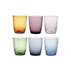 Torson, Bicchiere confezione assortita 6 pezzi - Zafferano