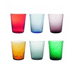 Veneziano, Bicchiere confezione assortita 6 pezzi - Zafferano