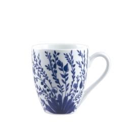 Blue, Mug blooming 420 Cc., Cm. 9,5, h. 11 Cm. - Rose & Tulipani