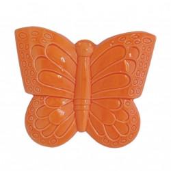 Evaporiamo, Farfalla arancio in porcellana Cm. 16 - Rose & Tulipani