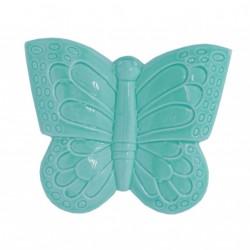 Evaporiamo, Farfalla azzurra in porcellana Cm. 16 - Rose & Tulipani
