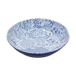 Blue, Spaghettiera melamina Cm. 37, h. 11,5 Cm. - Rose & Tulipani