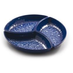 Blue, Cena fredda (3 parti) melamina Cm. 40, h. 3 Cm. - Rose & Tulipani