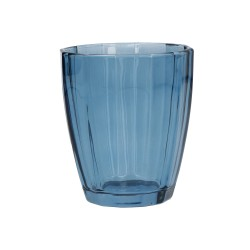 Amami, Bicchiere blunotte Cm. 8,5, h. 10 Cm. - Rose & Tulipani
