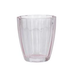 Amami, Bicchiere quarzo Cm. 8,5, h. 10 Cm. - Rose & Tulipani