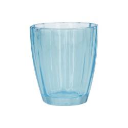 Amami, Bicchiere turchese Cm. 8,5, h. 10 Cm. - Rose & Tulipani