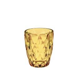 Amber diamond, Bicchiere d8 h10 cm 270 Cc., Cm. 8, h. 10 Cm. - Rose & Tulipani