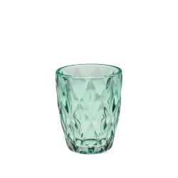Turquoise diamond, Bicchiere 270 Cc., Cm. 8, h. 10 Cm. - Rose & Tulipani