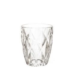 Diamond, Bicchiere 270 Cc., Cm. 8, h. 10 Cm. - Rose & Tulipani