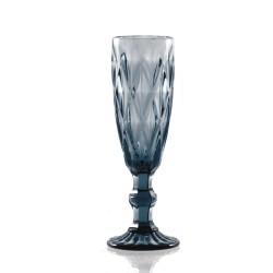 Blue diamond, flute 170 Cc., Cm. 6, h. 20 Cm. - Rose & Tulipani