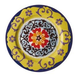 Nador, Vassoio rotondo Cm. 30, h. 2,5 Cm. - Rose & Tulipani