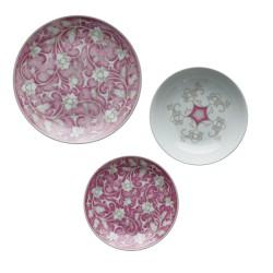 Taormina, Set tavola 18 pezzi - Rose & Tulipani