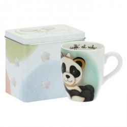 Mug Panda Pisces con scatola in latta - Thun