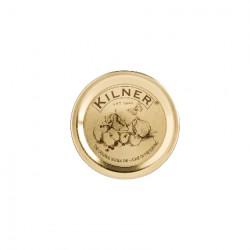 Confezione da 12 coperchi con guarnizione - Kilner