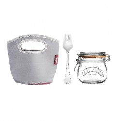 Set barattolo make and take Lt. 0,5 - Kilner