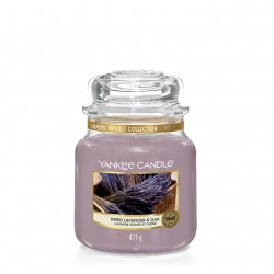 Dried Lavender & Oak, Giara Media - Yankee Candle